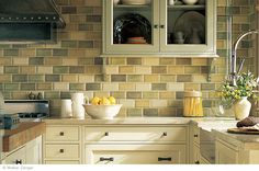 Still a classic after all these years. Ceramica Alhambra Beveled Beveled Brick.