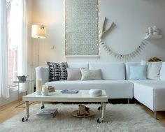 amazing small apartment decorated with Ikea furniture...great job done:)