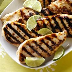 Grilled Honey-Lime Chicken Recipe