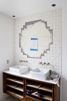 bathroom progress // smitten studio