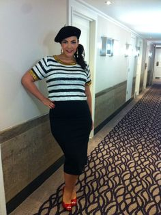 November 2nd, 2013, GAY London Top: Vila Skirt: customized Shoes: Jimmy Choo Beret: Accessorize