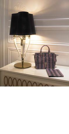 hotel table lamps on pinterest design hotel modern. Black Bedroom Furniture Sets. Home Design Ideas