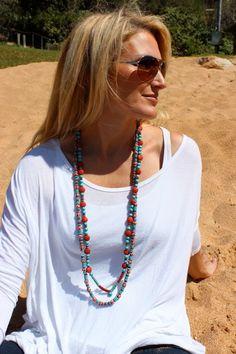 long necklace love  www.beautifullybespoke.com.au