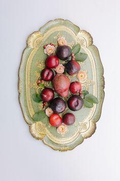 Romantic Peach and Plum Fall Wedding Inspiration