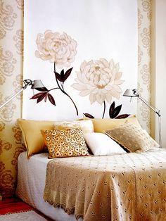 Gold bedroom.. guest room