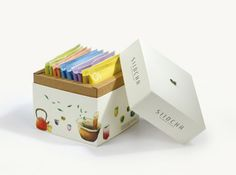 Siid Cha | Packaging of the World: Creative Package Design Archive and Gallery
