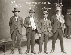 Vintage Gangster Mugshots fashion, houses, photograph, police, vintage, australia, gangsters, mafia, mug shots