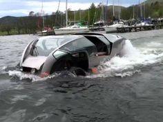 Scamander, o carro anfíbio que chega a 193 quilômetros por hora