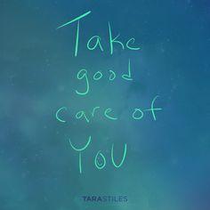 Sharespiration #8 – Take good care of YOU