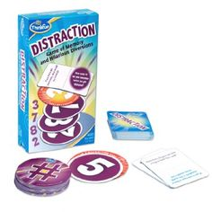 Distraction Card Game to improve working memory