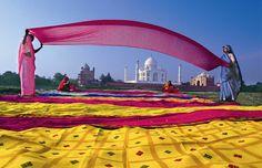 El Taj Mahal, Patrimonio de la Humanidad (India)