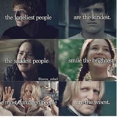 This really strikes me for some reason, but mostly I just love it because it's the Hunger Games. :)
