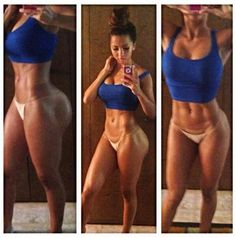 Body Motivator Fitspo Renner. Her Body is Insane