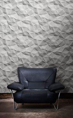 Painéis confeccionados em várias camadas de gesso com fibra de vidro.