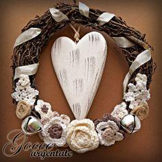 ribbon, snow wreath