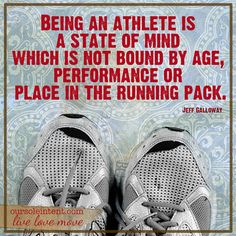 Being an athlete