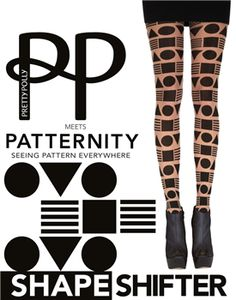 Pretty Polly meets Patternity Shapeshifter tights