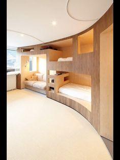 Bunk beds bedroom.