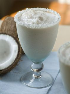 This frozen Irish cream and rum mixture is the perfect cocktail for a snowy day. Get dozens of delicious winter and holiday drink ideas here: http://www.hgtv.com/entertaining/holiday-cocktail-recipes-to-the-rescue/pictures/page-21.html?soc=pinfave