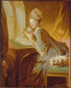Jean Honoré Fragonard (1732-1806), The Love Letter, c. 1770. The Paintrist Files