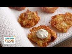 Potato Latkes | Everyday Food with Sarah Carey
