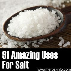 91 Amazing Uses For Salt