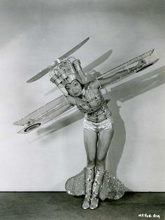 """Publicity pic from """"Just Imagine,"""" 1930"""