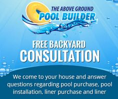 Free Backyard Survey, So we get it right the first time. http://www.abovegroundpoolbuilder.com/