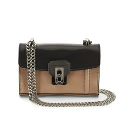 Madison Leather Cross-Body with Chain Strap - Kenneth Cole