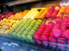 Our Favorite #French #Dessert #Macaroon #Paris #France #Travel #rainbow #color