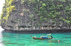 Maya Bay in Phuket Thailand