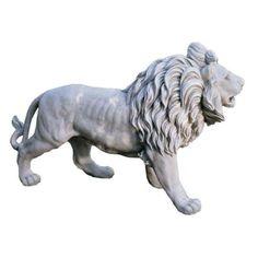 25 in. Regal Lion of Grisham Manor Statue - HD  $234.00