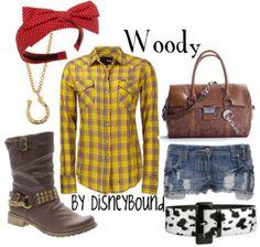 Woody by Disneybound