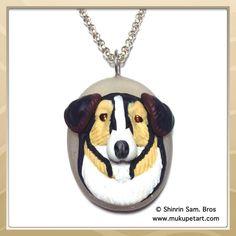 Custom Pet Portrait Pendant by tatsushop on Etsy