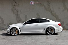 Black Series C63 AMG By Wheels Boutique On HRE Wheels