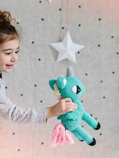 Crochet Unicorn Softie