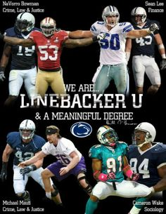 We Are...Linebacker U...WE ARE...PENN STATE!