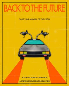 Back to the future Take Your Momma To The Prom  Art Print
