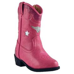 Toddler Pink Austin Lights Cowgirl Boot for a Sheriff Callie birthday