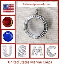 United  States Marine Corp''LOVE it! WANT it!!!  WANT IT FOR FREE?? Ask me how!   Need Extra Money?  Love Origami Owl ? JOIN MY TEAM!  Designer#14669  Like me on FACEBOOK http://www.facebook.com/oragamitouchedbyacharm SHOP ONLINE @ http://touchedbyacharm.origamiowl.com/