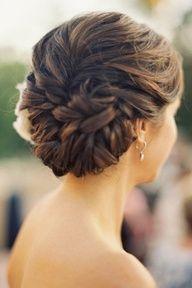 bridesmaid hair, braid, wedding updo, long hair, hair wedding, prom hair, wedding hairstyles, knot, wedding day hair