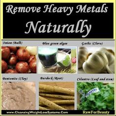 How to Remove Heavy Metals Naturally
