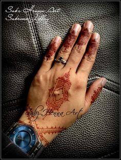 Natural henna stain. https://www.facebook.com/SabzHennaArt