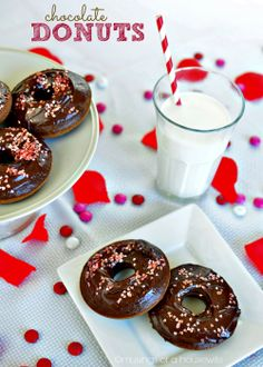 Chocolate Donuts that are #GlutenFree!!!