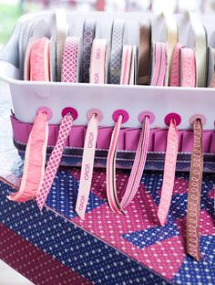 Organizando as coisas de costura