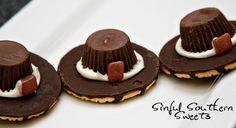 Pilgrim Hat Cookie Craft