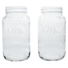 MRS Mason Jars-LOVE