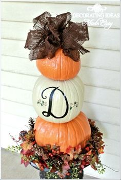 This would be a great entry decoration for fall!