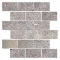 Bandung Gris Acid washed marble. Amalfi 12 x 12 in