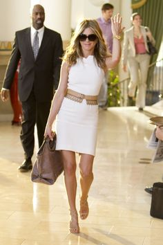 Jennifer Aniston.  In Just Go With It